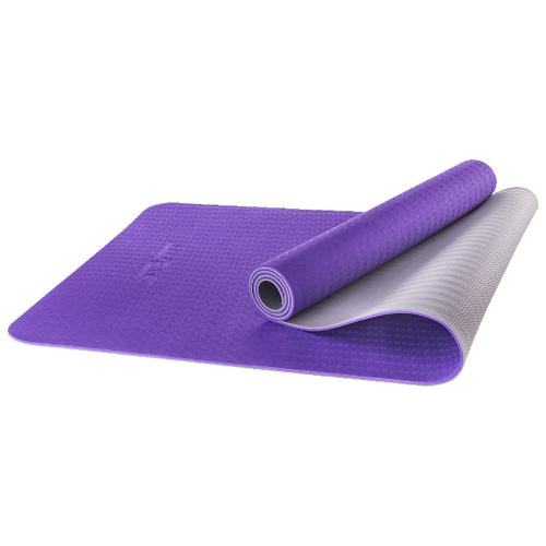 Фото - Коврик (ДхШхТ) 173х61х0.5 см Starfit FM-201 фиолетовый/серый однотонный коврик дхшхт 173х61х0 4 см starfit fm 102 фиолетовый рисунок