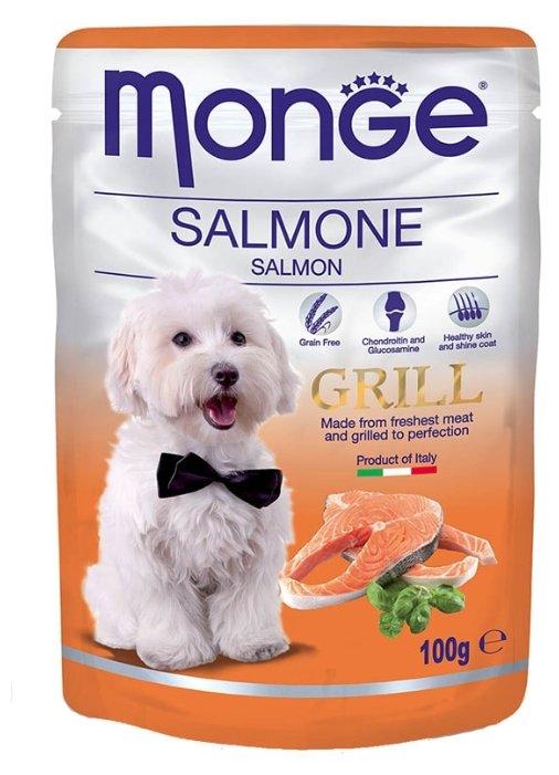 Корм для собак Monge Grill – Влажный корм для собак из лосося