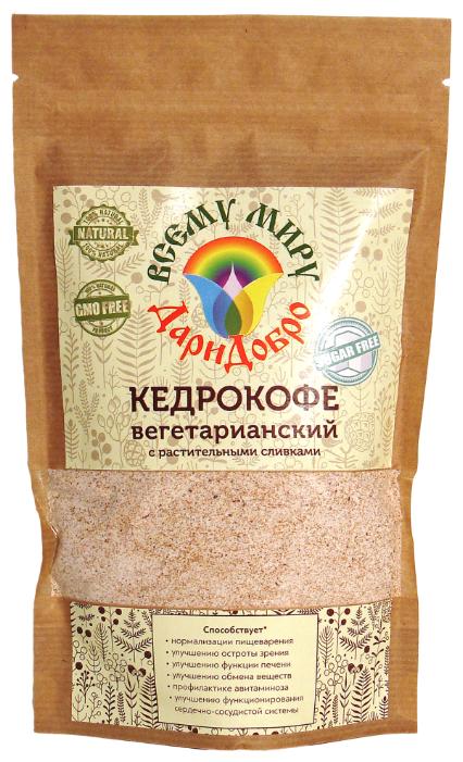 Цикорий ДариДобро Кедрокофе Веганский на растительных сливках без сахара