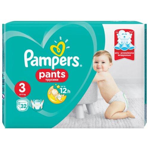 Pampers трусики Pants 3 (6-11 кг) 32 шт.