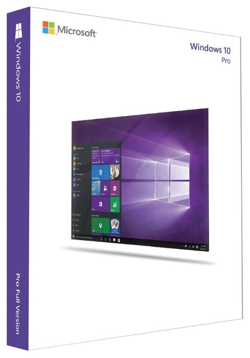 Microsoft Windows 10 Professional 32-bit/64-bit Russian Russia Only USB FQC-09118 / FQC-10150