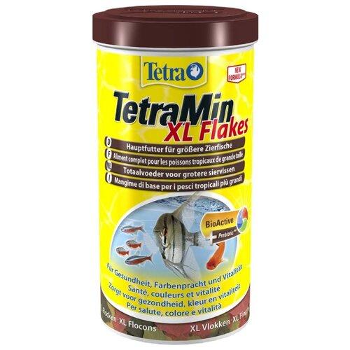 Сухой корм для рыб Tetra TetraMin XL Flakes 1000 мл сухой корм для рыб tetra tetramin flakes 500 мл 100 г