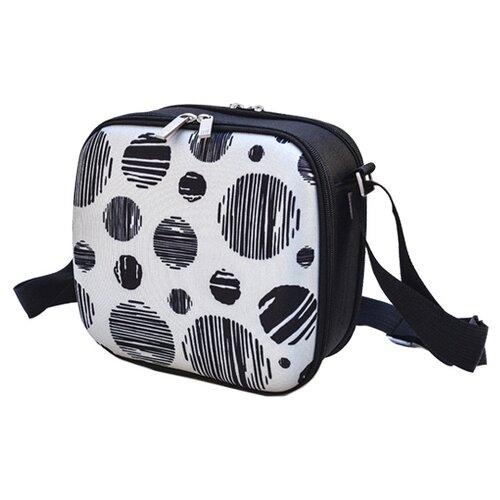 IRIS Barcelona Термосумка Cubic Happy Lunchbag Круги серый 3.9 л