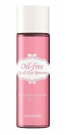 Secretkey средство для снятия макияжа Oil-Free Lip & Eye Remover