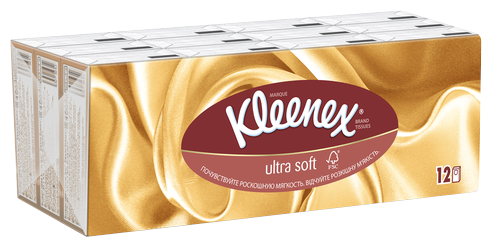 Kleenex Салфетки Ultrasoft 56 шт
