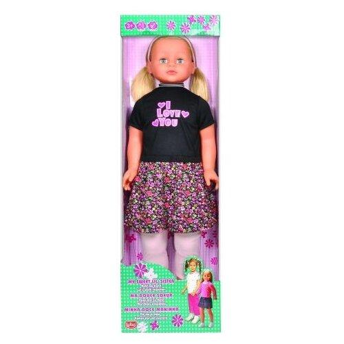 Кукла Lotus Onda В цветастом платье, 86 см, 35001/8 мозаика стекломасса 32 7х32 7х0 4 onda синий микс