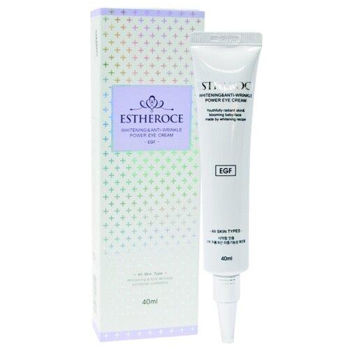 Estheroce Крем для век омолаживающий Estheroce Whitening & Anti-wrinkle Power Eye Cream 40 мл лучший крем для век после 40