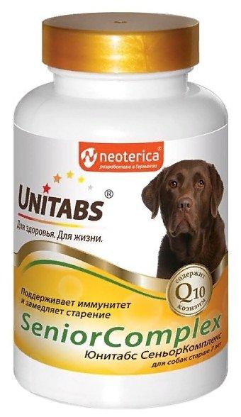 Добавка в корм Unitabs SeniorComplex для собак старше 7 лет