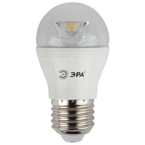 Лампа светодиодная ЭРА Б0017243, E27, P45, 7Вт лампа светодиодная эра б0017242 e14 p45 7вт