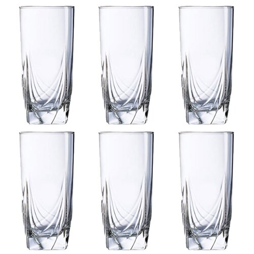 Luminarc Набор стаканов Ascot 330 мл 6 шт H9813Бокалы и стаканы<br>