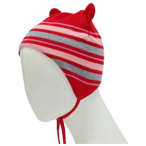 Шапка Zattani размер 48, красныйГоловные уборы<br>