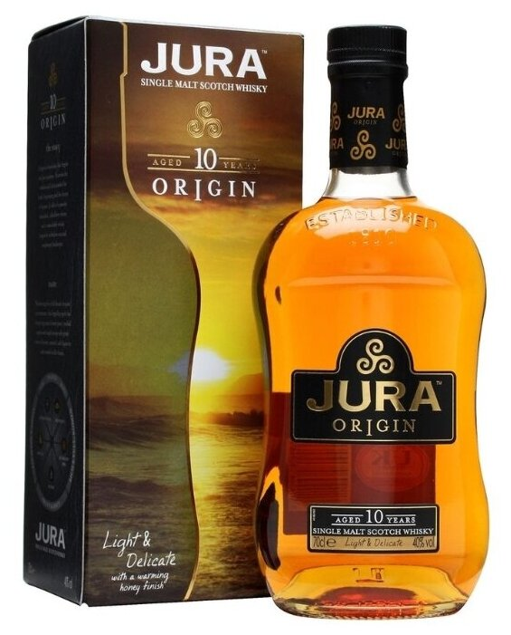 Виски Jura 10 лет, 0.7 л, подарочная упаковка