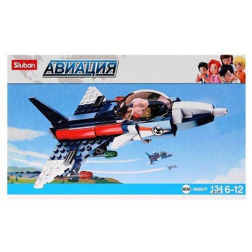 Конструктор SLUBAN Авиация M38-B0667F Самолет sluban 38 0103мв