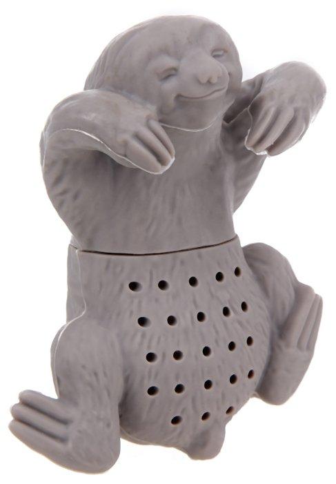 Ситечко для заварки FidgetGo Ленивец серый