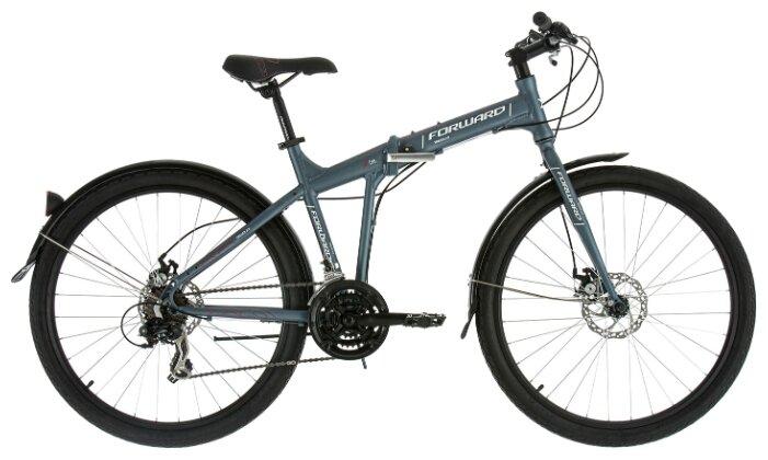 Велосипед Forward TRACER 26 2.0 disc light gray flat (2019)