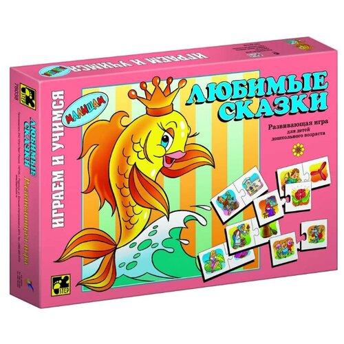 Купить Настольная игра Step puzzle Играем и учимся Любимые сказки, Настольные игры