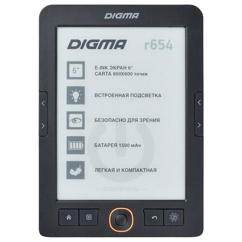Электронная книга DIGMA r654 графит