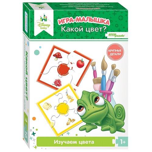 Настольная игра Step puzzle Игра-малышка Какой цвет? (Disney Baby) настольная игра step puzzle домино disney тачки 80107