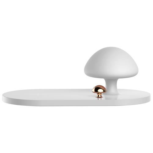 Фото - Беспроводная сетевая зарядка Baseus Mushroom Lamp Desktop Wireless Charger белый беспроводная сетевая зарядка baseus ufo desktop wireless charger черный