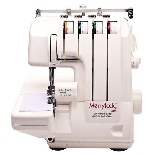 Фото - Оверлок Merrylock 005 / 848DS белый коверлок merrylock 011 белый