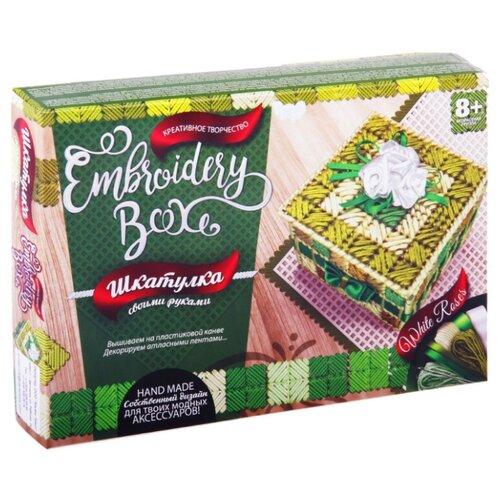 Купить Danko Toys Набор для вышивания Embroidery Box Шкатулка Набор 4 (EMB-01-04), Наборы для вышивания