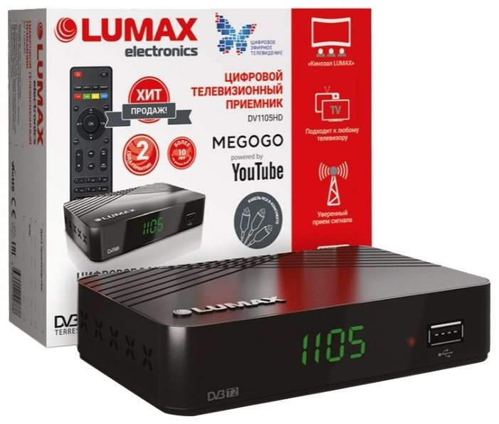 LUMAX TV-тюнер LUMAX DV-1105HD
