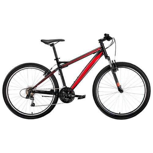 цена на Горный (MTB) велосипед FORWARD Flash 26 1.0 (2019) черный/красный 15 (требует финальной сборки)