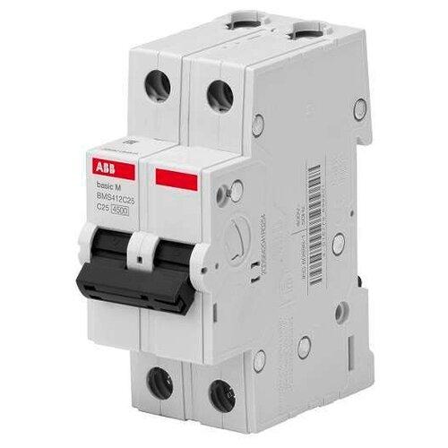 Автоматический выключатель ABB Basic M 2P (C) 4,5kA 25 ААвтоматические выключатели<br>