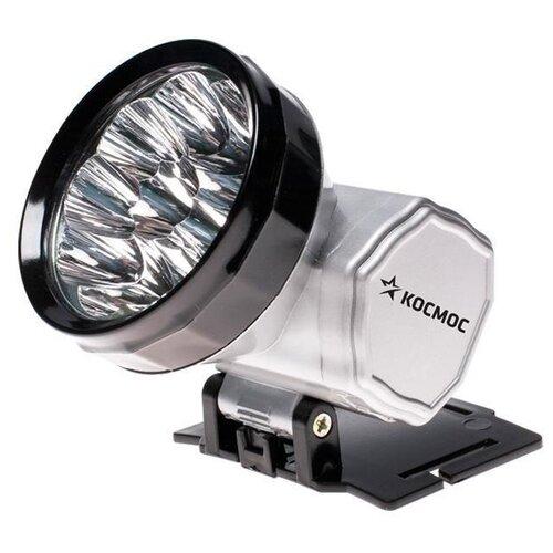 Налобный фонарь КОСМОС AccuH10LED серебристый налобный фонарь fenix raptor hm65r