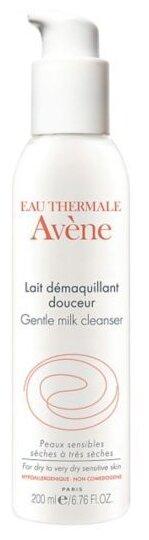 AVENE мягкое очищающее молочко для лица