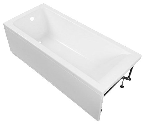 Акриловая ванна Aquanet Bright 175x75 без гидромассажа