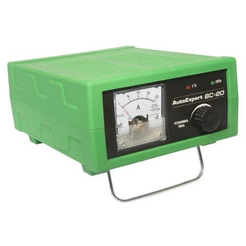 Зарядное устройство AutoExpert BC-20 зеленый зарядное
