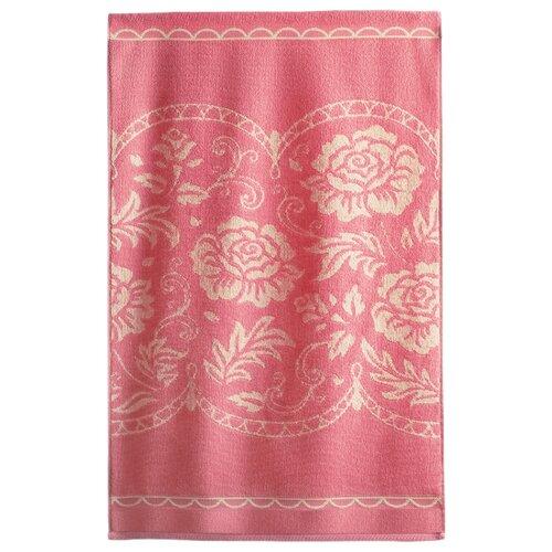 Aquarelle Полотенце Розы роскошные для лица 50х90 см розово-персиковый/кораллПолотенца<br>