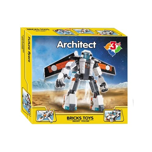 Конструктор Jisi bricks (Decool) Architect 3115 Летающий робот