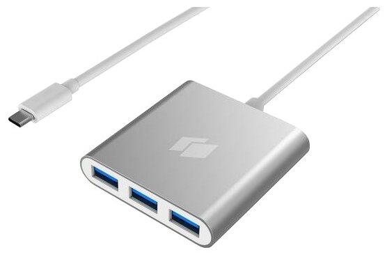 USB-концентратор HIPER HIPER HUB C4 - USB Type-C (C4), разъемов: 5