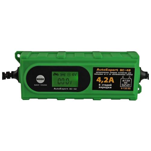 Фото - Зарядное устройство AutoExpert BC-42 зеленый зарядное устройство autoexpert bc 80