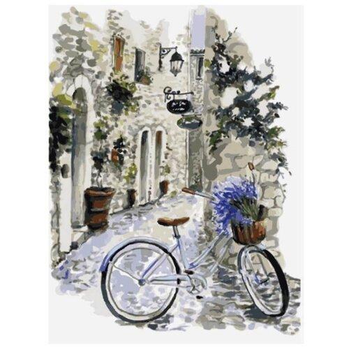 """Цветной Картина по номерам """"На велосипеде по Провансу"""" 30х40 см (ME1082)"""