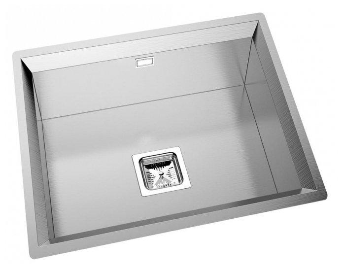 Интегрированная кухонная мойка Oulin OL-FU114 51.6х49.6см нержавеющая сталь