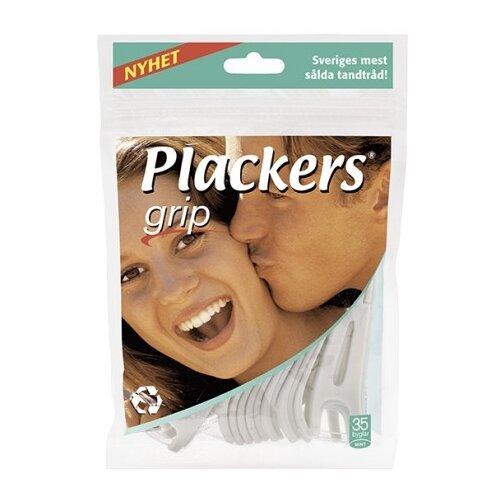 Plackers Grip флоссер для ухода за полостью рта 35 штПолоскание и уход за полостью рта<br>