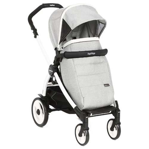 Прогулочная коляска Peg-Perego Book 51 Pop Up Completo luxe opal/white-black