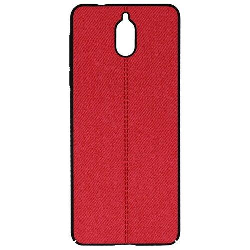 Чехол Volare Rosso Jeans для Nokia 3.1 красный