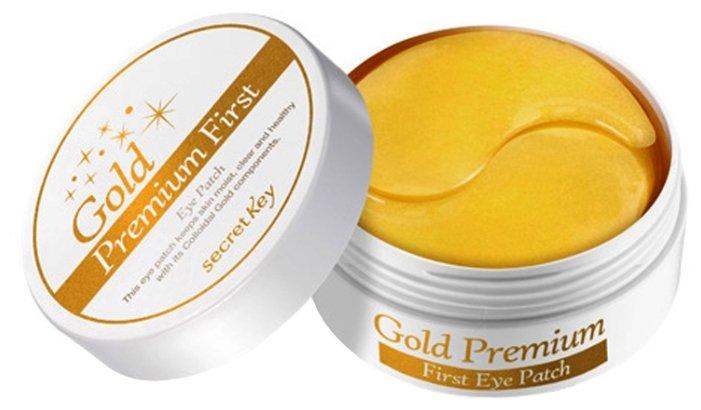 Маска Secret Key Gold Premium First Eye Patch (60 шт)