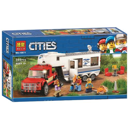 цена на Конструктор BELA (Lari) Cities 10871 Дом на колесах