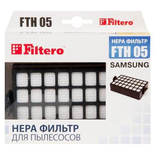 Filtero HEPA-фильтр FTH 05 1 шт. filtero hepa фильтр fth 32 1 шт