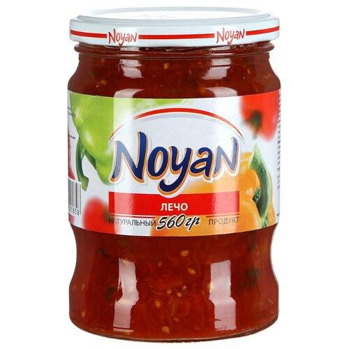 Лечо NOYAN стеклянная банка 560 г баклажаны жареные noyan с черносливом в томатном соусе 560 г