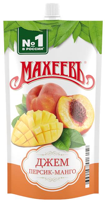 Джем Махеевъ персик-манго, дой-пак 300 г