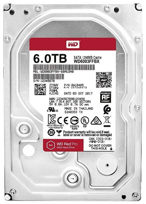 Жесткий диск Western Digital WD6003FFBX фото 1