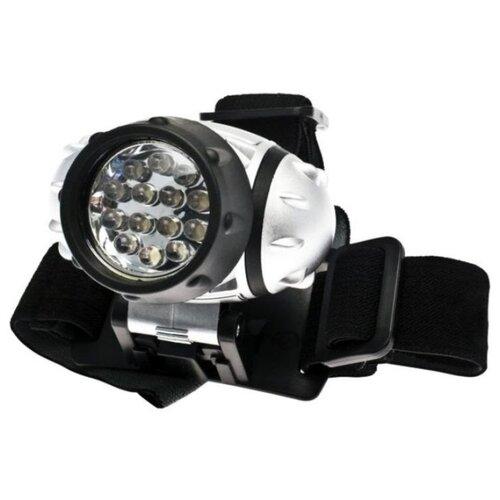 цена на Налобный фонарь КОСМОС H14-LED серебристый/черный