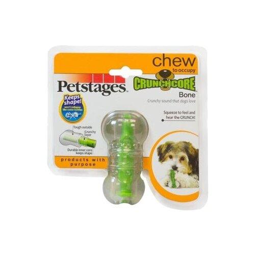 Косточка для собак Petstages Crunchcore bone (263YEX) зеленыйИгрушки для кошек и собак<br>