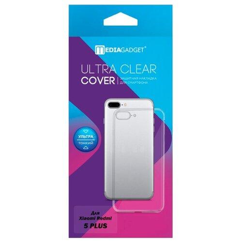 цена на Чехол Media Gadget ESSENTIAL CLEAR COVER для Xiaomi Redmi 5 Plus прозрачный